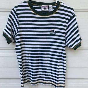 Tops - VINTAGE Striped Packer Tee
